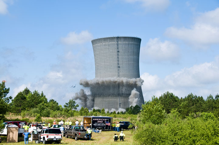 K Cooling Tower Demolition Project Video : American